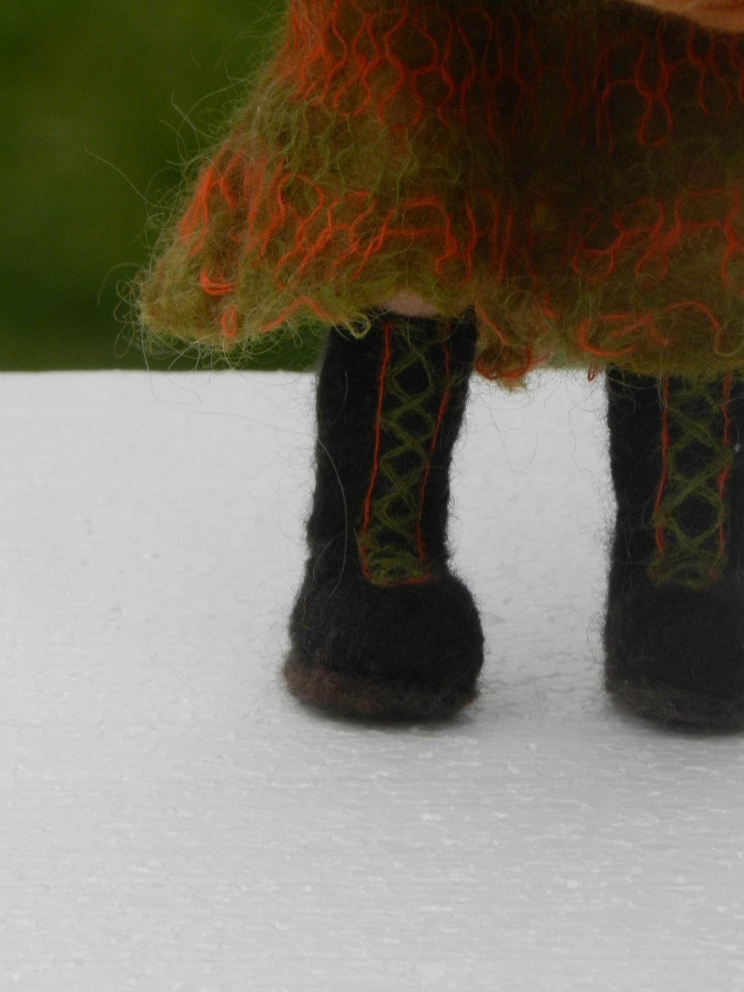 Felted Wool Doll Smaranda S Page